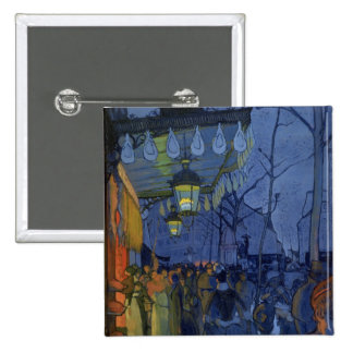 Street Scene, at Five in the Afternoon, 1887 15 Cm Square Badge