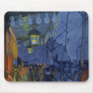 Street Scene, at Five in the Afternoon, 1887 Mouse Pad
