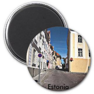 Street Scene Estonia, Magnet