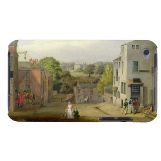 Street Scene in Chorley, Lancashire, with a View o iPod Touch Case