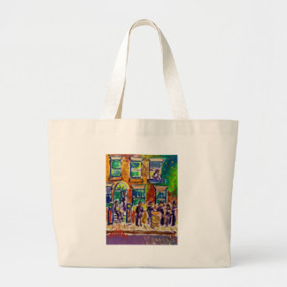 Street Scene J1 Jumbo Tote Bag