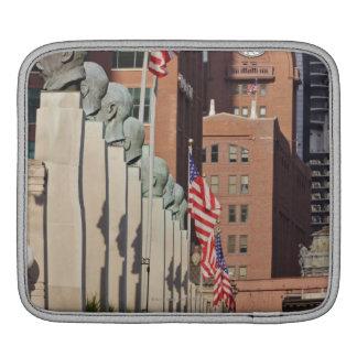 Street Scene outside the Chicago Merchandise iPad Sleeve