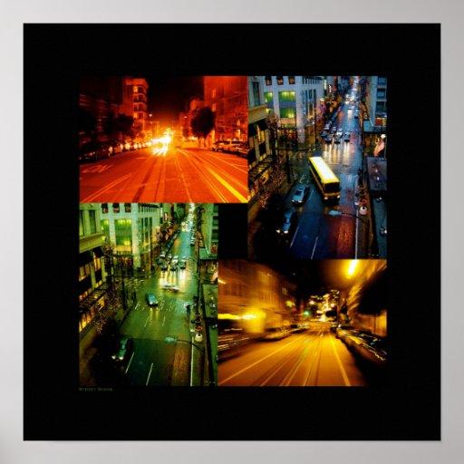Street-Scene Poster