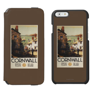 Street Scene with Two Men Working Railway Incipio Watson™ iPhone 6 Wallet Case