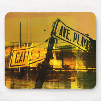 Street Sign Mouse Mat