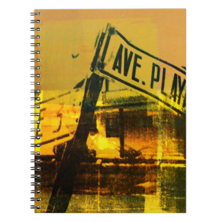 Street Sign Notebook
