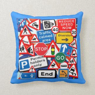 Street Signs Cushion