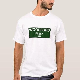 STREET SIGNS - ESSEX - WOODFORD IG8 T-Shirt