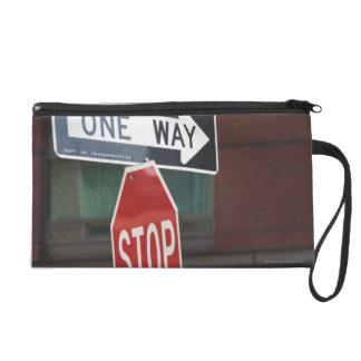 Street Signs Wristlet Purse