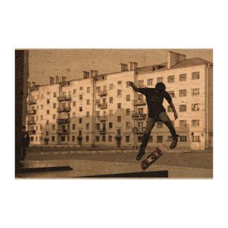 Street Skater Cork Paper Prints