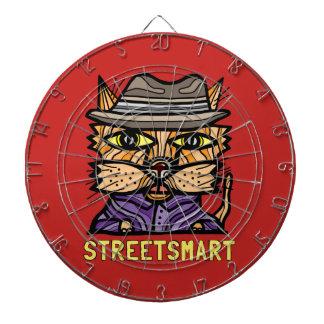 """Street Smart"" Metal Cage Dartboard"