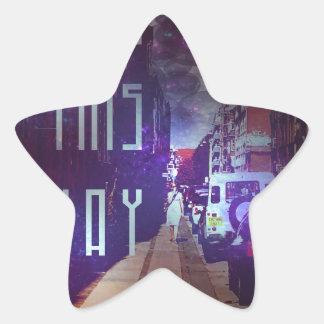 Street Star Sticker