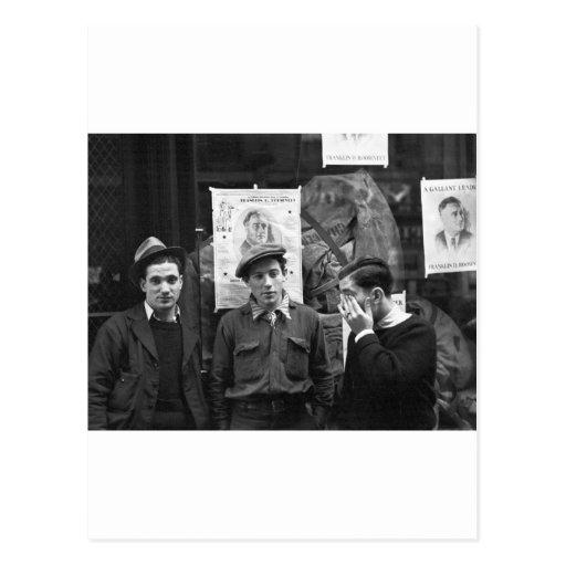 Street Toughs for FDR: 1936 Postcards