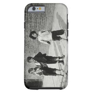Street urchins in Lambeth (b/w photo) Tough iPhone 6 Case