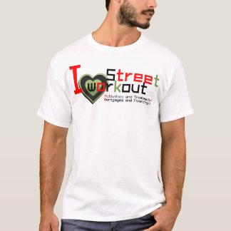 Street workout and Fitness T-Shirt