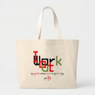 Street workout or Fitness. Jumbo Tote Bag