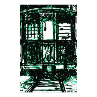Streetcar In New Orleans Stationery Design