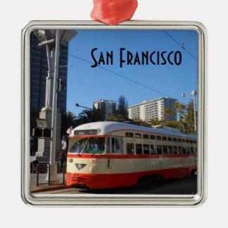 Streetcar- San Francisco Christmas Ornament