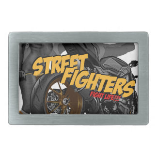 Streetfighter Motorcycle Belt Buckle