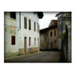 Streets of Aviano Post Card