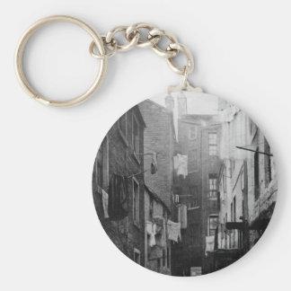 Streets of Glasgow Scotland 1868 Keychain