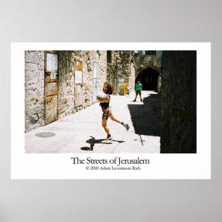 Streets of Jerusalem Poster