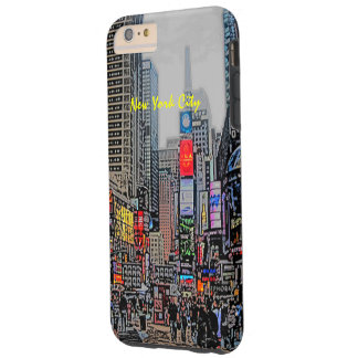 Streets of New York City iPhone case Tough iPhone 6 Plus Case