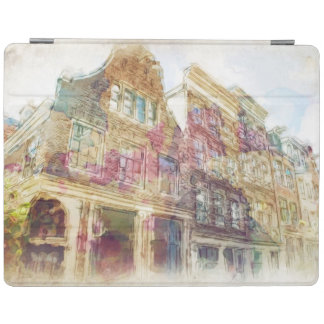 Streets of Old Amsterdam iPad Cover