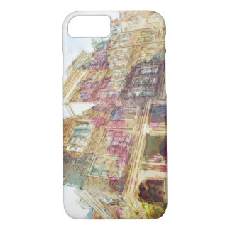 Streets of Old Amsterdam iPhone 8/7 Case