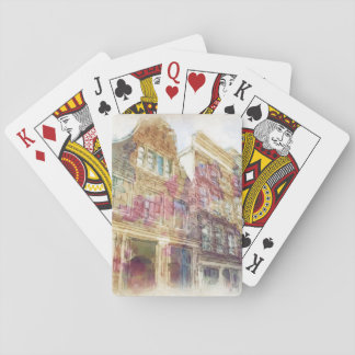 Streets of Old Amsterdam Playing Cards