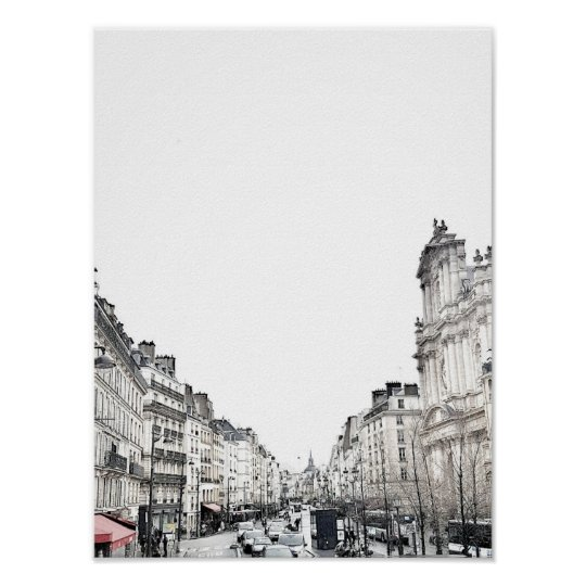 Streets of Paris - Poster - ElodieLamarc Exclusive