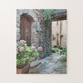 Streets of Pontito Jigsaw Puzzle