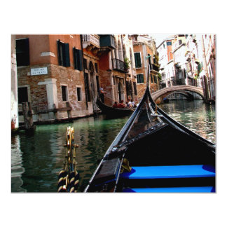 Streets of Venice 11 Cm X 14 Cm Invitation Card