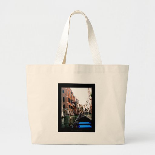 Streets of Venice Jumbo Tote Bag