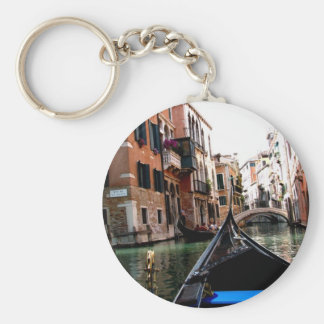 Streets of Venice Key Ring
