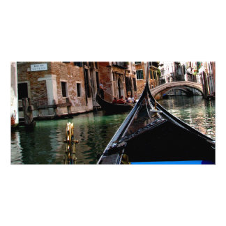 Streets of Venice Photo Card Template