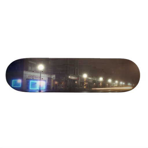 Streetscape IV  - Greenfield as Paris Skate Decks