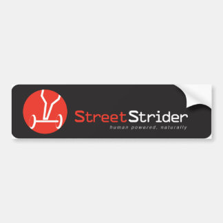 Streetstrider Bumper Sticker