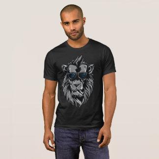Streetwear Cool Smoking Lion T-Shirt