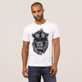 Streetwear Smoking Lion T-Shirt