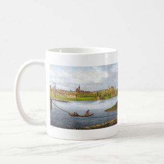 Strehla by Carl Wilhelm Arldt 1840 Basic White Mug