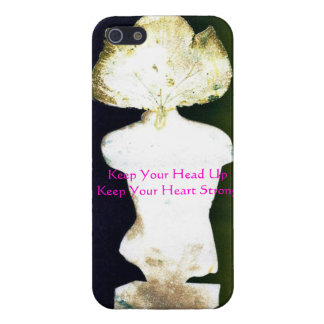 Strength and courage iPhone 5/5S covers