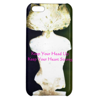 Strength and courage iPhone 5C cases