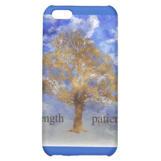STRENGTH AND PATIENCE TREE CASE FOR iPhone 5C