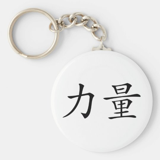 strength basic round button key ring
