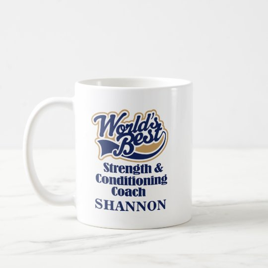 Strength & Conditioning Coach Personalised Mug