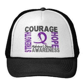 Strength Courage Hope Alzheimer's Disease Trucker Hat