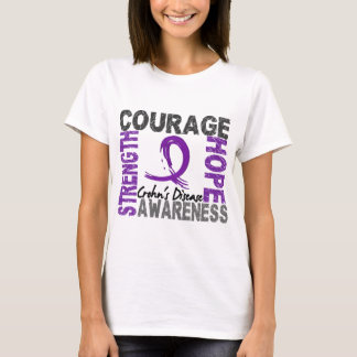 Strength Courage Hope Crohn's Disease T-Shirt