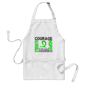Strength Courage Hope Non-Hodgkin's Lymphoma Standard Apron