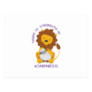 STRENGTH IN KINDNESS POSTCARD